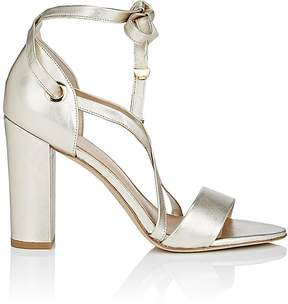 Diane von Furstenberg WOMEN'S CALABAR LEATHER ANKLE-TIE SANDALS