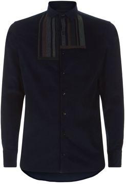 Kolor Stripe Corduroy Shirt