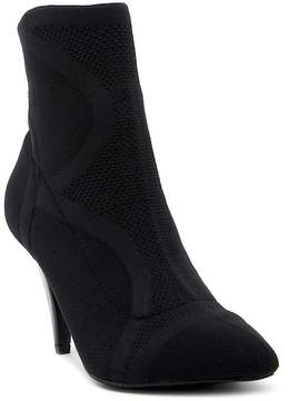 Carlos by Carlos Santana Makayla Knit Pointed Toe Bootie