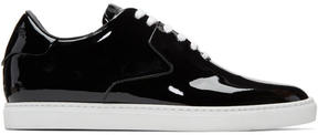 DSQUARED2 Black Patent Shiny Sneakers