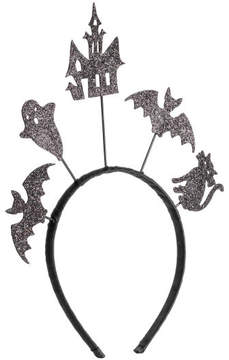 H&M Hairband with Appliques - Black