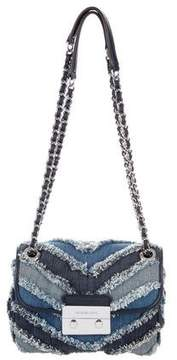 MICHAEL Michael Kors Sloan Denim Shoulder Bag