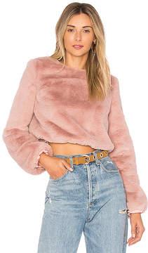 Lovers + Friends x REVOLVE Teagan Faux Fur Sweater