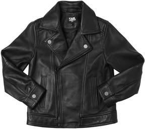 Karl Lagerfeld Leather Jacket