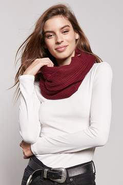 Forever 21 Ribbed Infinity Scarf