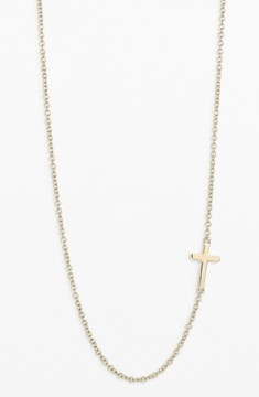 Bony Levy Women's Cross Station Necklace (Nordstrom Exclusive)