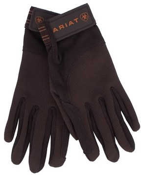 Ariat Brown Tek Grip Gloves