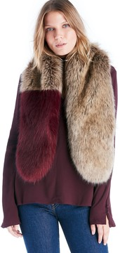 Sole Society Dip Dyed Faux Fur Stole