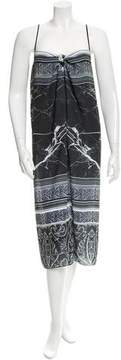 Clover Canyon Sleeveless Printed Midi Dress