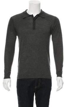 Pierre Balmain Wool Polo Sweater