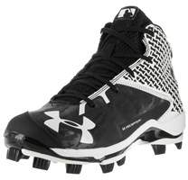 Under Armour Men's Ua Deception Mid Tpu Baseball Cleat.