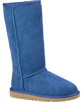 UGG Unisex Children's Classic Tall Big Kids Blue Jay Size 6 M