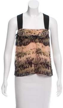 Cacharel Printed Sleeveless Top