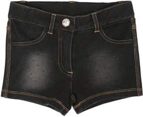 MonnaLisa Stretch Cotton Fleece Shorts