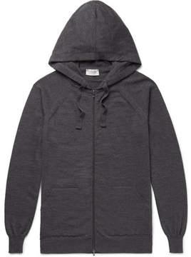 John Smedley Reservoir Wool Zip-Up Hoodie
