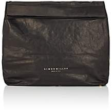 Simon Miller Women's Extra Large Leather Lunch Bag - Black