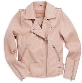 Blank NYC Girl's Moto Jacket