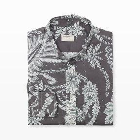 Club Monaco Slim-Fit Paisley Floral Shirt