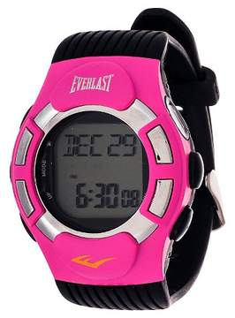 Everlast Finger Touch Heart Rate Monitor Watch Pink