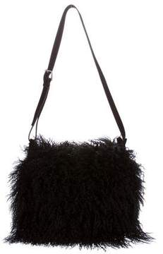 Ralph Lauren Mongolian Lamb Messenger Bag