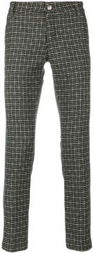 Entre Amis woven straight-leg trousers