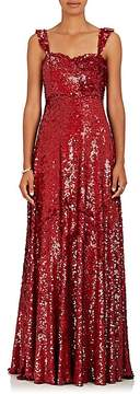 Valentino Women's Sequin-Embellished Silk Gown