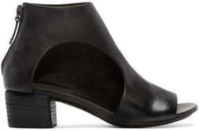 Marsèll Black Leather Bo Sandalo Ankle Boots