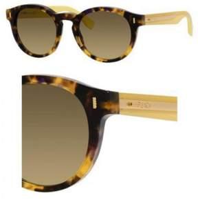 Fendi Sunglasses 85 /S 0HJV Brown Havana Yellow / ED brown gradient lens