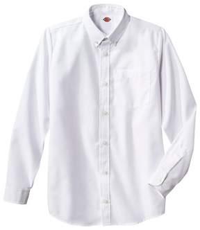 Dickies Boys' Long Sleeve Oxford Shirt