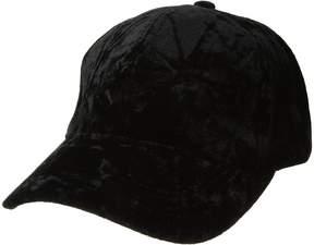 BCBGeneration Velvet Baseball Caps