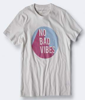 Aeropostale No Bad Vibes Graphic Tee