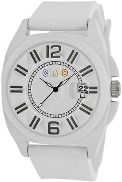 Crayo Sunset Collection CRACR3301 Unisex Watch with Silicone Strap