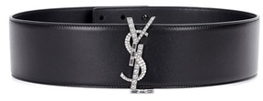 Saint Laurent leather belt