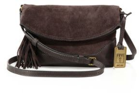 Frye Tassel Leather Crossbody Bag