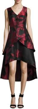 Shoshanna Women's Rose Cocktail Midi Dress