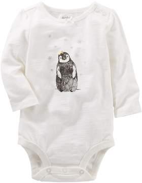 Osh Kosh Oshkosh Bgosh Baby Girl Penguin Bodysuit