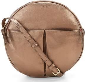 ED Ellen Degeneres Paz Metallic Canteen Cross-Body Bag