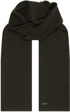 Z Zegna Knitted Merino Wool Scarf