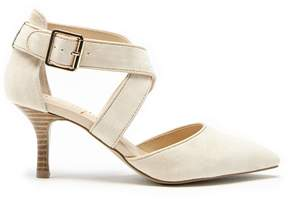Sole Society Tamra cross strap pump