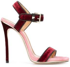 DSQUARED2 velvet sandals