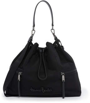 Henri Bendel Studio Nylon Drawstring Bag