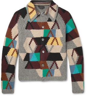 Prada Virgin Wool Cardigan