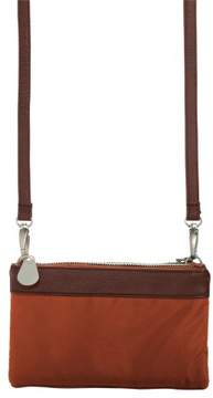 Baggallini Leather Trim Tessa Clutch