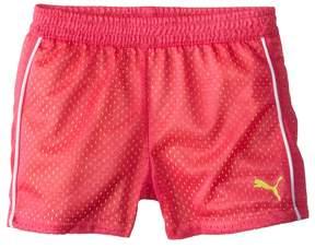 Puma Kids - Double Mesh Shorts Girl's Shorts
