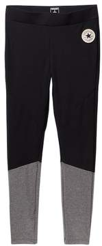Converse Fabric Blocked Leggings (Big Girls)