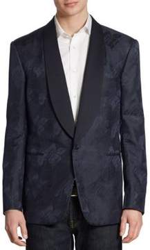 Ralph Lauren Anthony Classic-Fit Palm Leaf Silk Jacquard Tuxedo Jacket