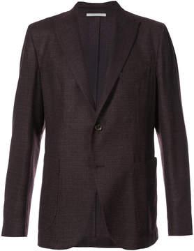 Eleventy scalloped suit jacket