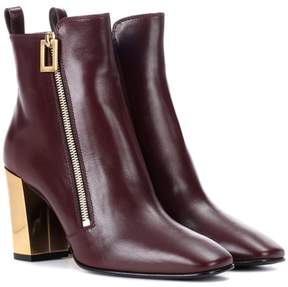 Roger Vivier Polly Zip leather ankle boots