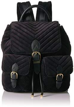 Juicy Couture Fairmont Fairytale Velour Buckle Backpack