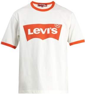 Junya Watanabe X Levi's cotton T-shirt
